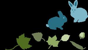 Leaves-Rabbits